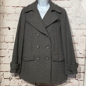 🆕Talbots Double Breasted Peacoat, Size 10